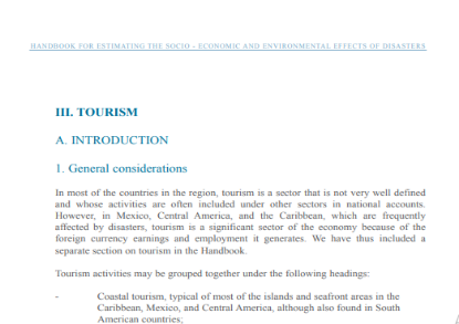 Picture of III. TOURISM