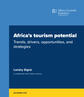 Picture of Africa's tourism potential Trends, drivers, opportunities, and strategies