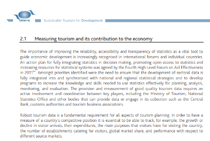 Picture of Measuring tourism and its contribution to the economy