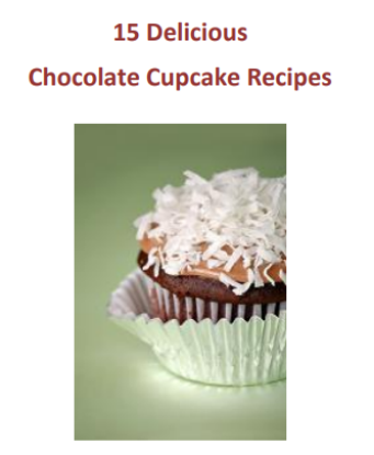Picture of 15 Delicious Chocolate Cupcake Recipes