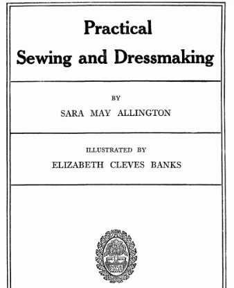 Picture of Practical Sewing and Dressmaking