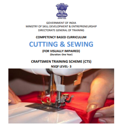 Picture of COMPETENCY BASED CURRICULUM CUTTING & SEWING