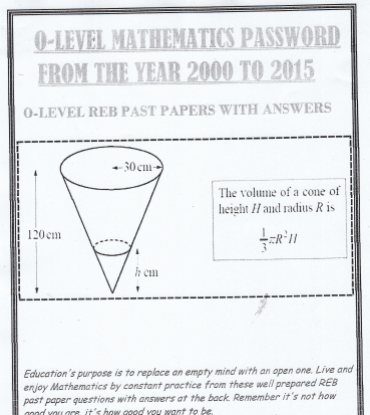 Picture of Mathematics Questions and Answers
