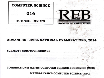 Picture of 2014 Computer Science - MCE, MPC