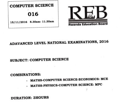 Picture of Computer Science 2016