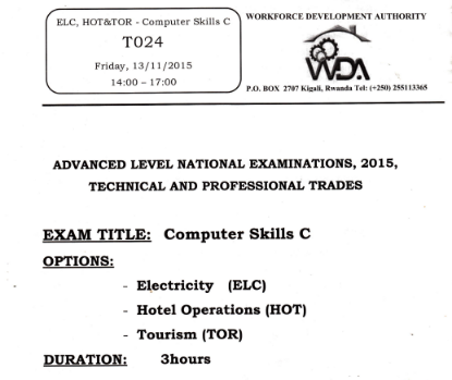Picture of COMPUTER SKILLS C - ELC,HOT&TOR 2015