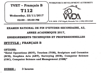 Picture of Francais B 2017