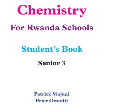 Picture of Chemistry Student's Book Senior 3