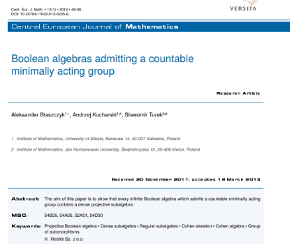 Picture of Boolean algebras admitting a countable minimally acting group