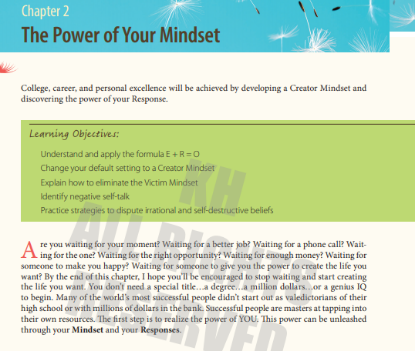 Picture of The Power of Your Mindset